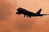 飛行機夕方 FG5604742 (160-120)